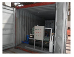 Containerized Ice Block Machine