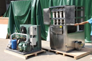OMT 1T Industrial Cube Ice Machine