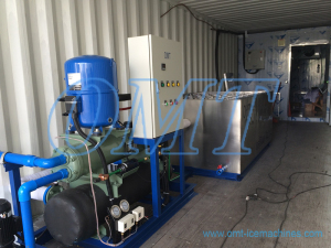 OMT Containerized Ice Block Machine to Panama