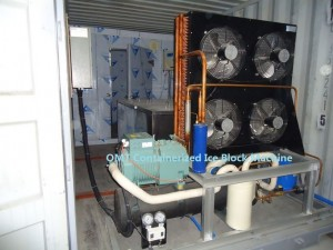 OMT Containerized Ice Block Machines