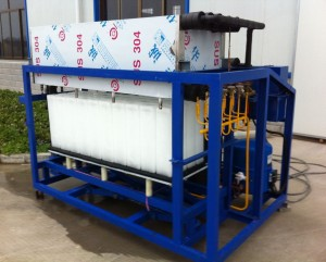 OMT Direct Evaporated Ice Block Machine